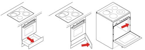 Επισκευές ηλεκτρικής κουζίνας φούρνου serial